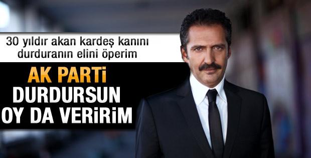 AKP kanı durdursun oy veririm