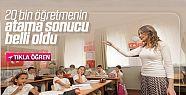 20 bin sözleşmeli öğretmen ataması...