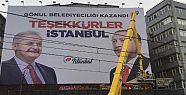 AK Parti İstanbul'u yeniden afişlerle...
