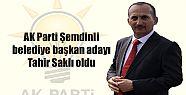 AK Parti Şemdinli belediye başkan adayı...
