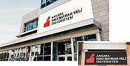 Ankara Hacı Bayram Veli Üniversitesi'nde...