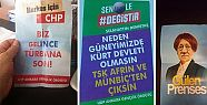 Ankara'da 'birileri' sahte seçim broşürleri...
