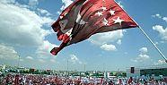Ankara'da Saadet Partisi bayrakları indirildi