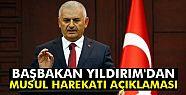 Başbakan Yıldırım'dan Musul harekatı...