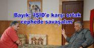 Bayık: 'IŞİD'e karşı ortak cephede...