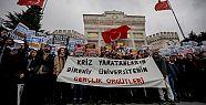 Beyazıt Meydanı'nda protesto: YÖK kapatılsın