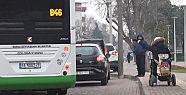 Bursa'da belediye otobüsü engelli yolcuyu...