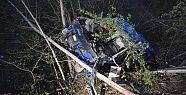 Cezaevi aracı kaza yaptı: 2 asker ve sürücü...