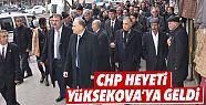 CHP heyeti Yüksekova'ya geldi
