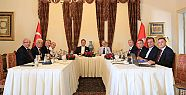 CHP'li belediye başkanları İstanbul'da...