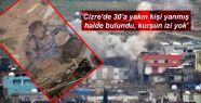'Cizre'de 30'a yakın kişi yanmış halde...