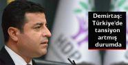 Demirtaş: Türkiye'de tansiyon artmış...