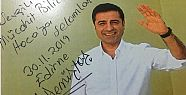 Demirtaş'tan Mücahit Bilici'ye: Özgür...