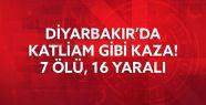 Diyarbakır'da katliam gibi kaza: 7 Ölü,...
