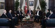 Dolmabahçe'de oturma planını Erdoğan...