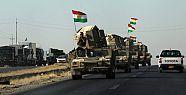 Erbil'de 'SDG'ye destek için peşmerge...