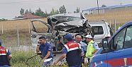 Eskişehir'de trafik kazası: 5 kişi hayatını...