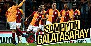 Galatasaray, Başakşehir'i 2-1 yenip şampiyon...