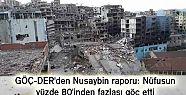 GÖÇ-DER'den Nusaybin raporu: Nüfusun...