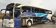 Kahramanmaraş'ta yolcu otobüsü devrildi:...
