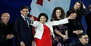 Gürcistan'ın ilk kadın cumhurbaşkanı...