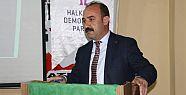 Hakkari Belediyesi Eşbaşkanı Cihan Karaman...