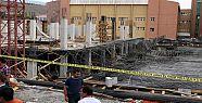 Hastanede göçük, 8 işçi yaralandı