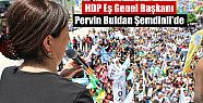 HDP Eş Genel Başkanı Pervin Buldan Şemdinli'de