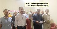 HDP Şemdinli İlçe Örgütünden 1 Eylül...