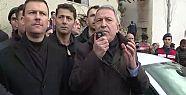Hulusi Akar: Saldırganlara 'değerli arkadaşlar'...