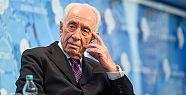 İsrail eski Cumhurbaşkanı Şimon Peres...