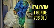 İtalya'da bir günde 793 kişi hayatını...