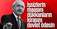 Kemal Kılıçdaroğlu'ndan hükümete mali...