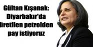 Kışanak: Amed'de üretilen petrolden pay...