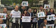 Londra'da tutuklu Barış Akademisyenlerine...