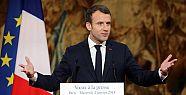 Macron'a kızan işçiler sarayın gazını...