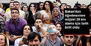 MEB: 25 bin öğretmen ataması yapılacak