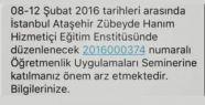 MEB'den İdil'deki öğretmenlere 'İstanbul'a...