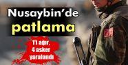 Nusaybin'de patlama: 1'i ağır, 4 asker...
