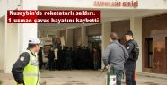 Nusaybin'de roketatarlı saldırı: 1 asker...