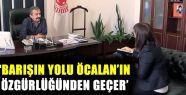 Önder: 'Barışın yolu Öcalan'ın özgürlüğünden...