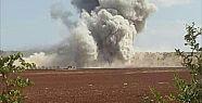 Rusya ve Suriye İdlib'i vurdu