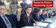 Rusya'da Rojava Temsilciliği açıldı