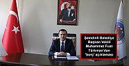 Şemdinli Belediye Başkan Vekili Türkman'dan...