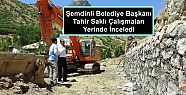 Şemdinli Belediye Başkanı Tahir Saklı...