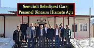 Şemdinli Belediyesi Garaj Personel Binasını...