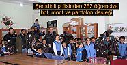 Şemdinli polisinden 262 öğrenciye giyim...