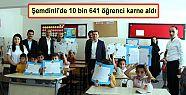 Şemdinli'de 10 bin 641 öğrenci karne...