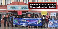 Şemdinli'de 2 Nisan Dünya Otizm farkındalık...