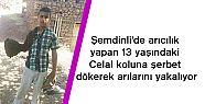 Şemdinli'de arıcılık yapan 13 yaşındaki...